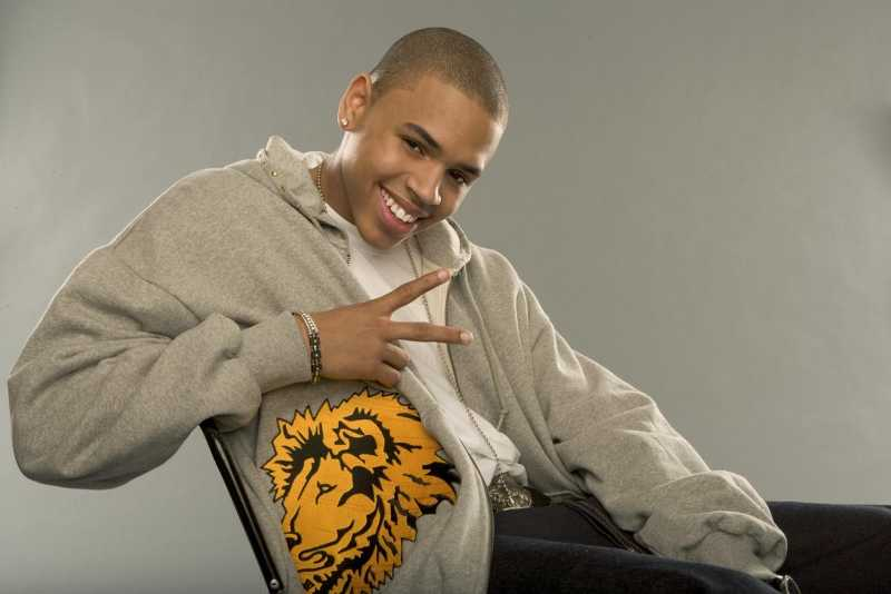CHRIS BROWN WHEN HE WAS 18 :