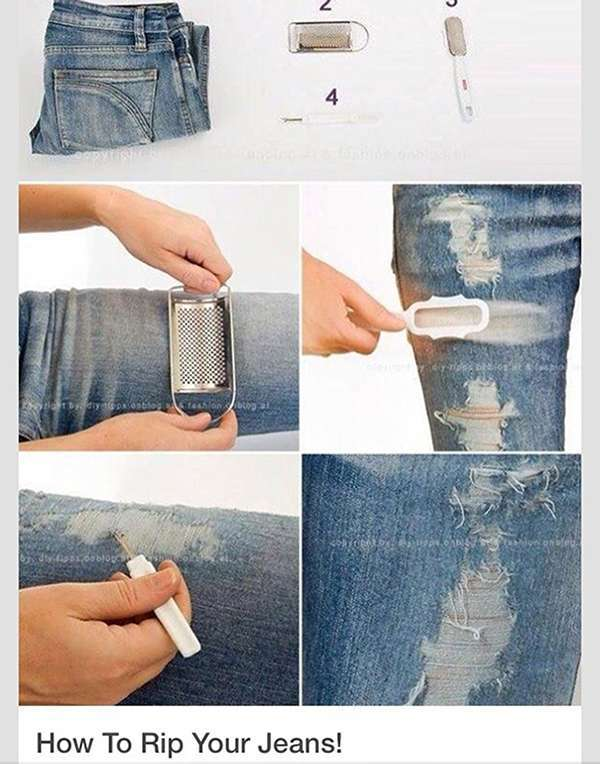 6 Simple Hacks To Renew Your Jeans