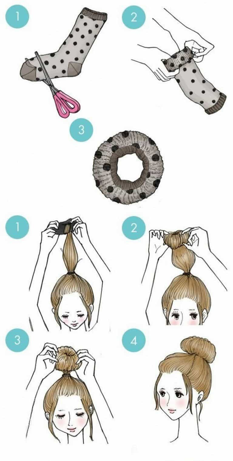 10 Easy and Stylish Hairstyle Hacks