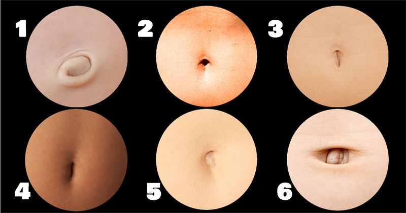 What Does The Shape Of Your Belly Button Tell About Your Personality
