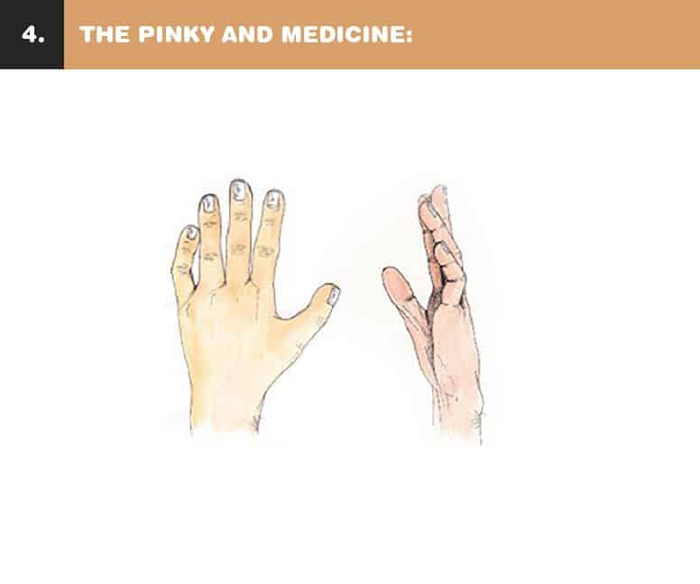 What Your Pinky Finger Says About Your Personality And Relationship