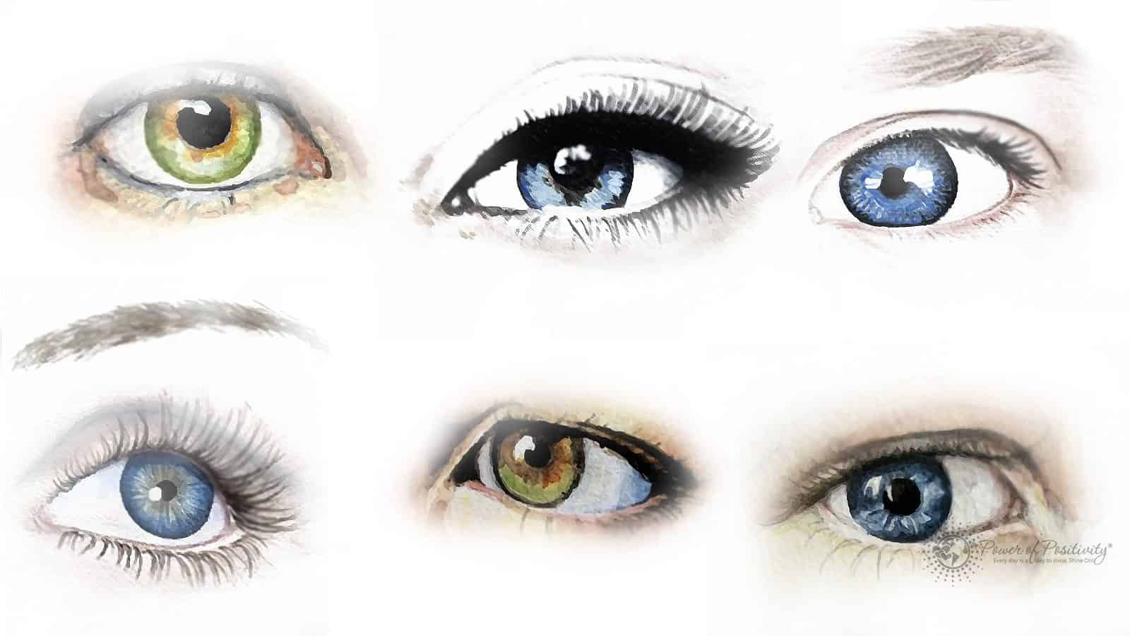 What does your eye shape say about your personality?