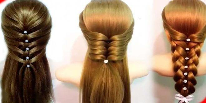 9 Easy to make beautiful Hairstyles - Banter.fun