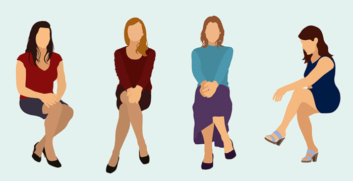 Here's what your sitting position says about your personality