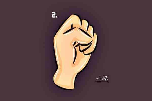 types of the fist with their significance