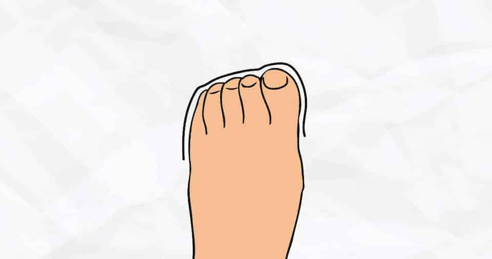 Shape of your toes can reveal anything about your personality