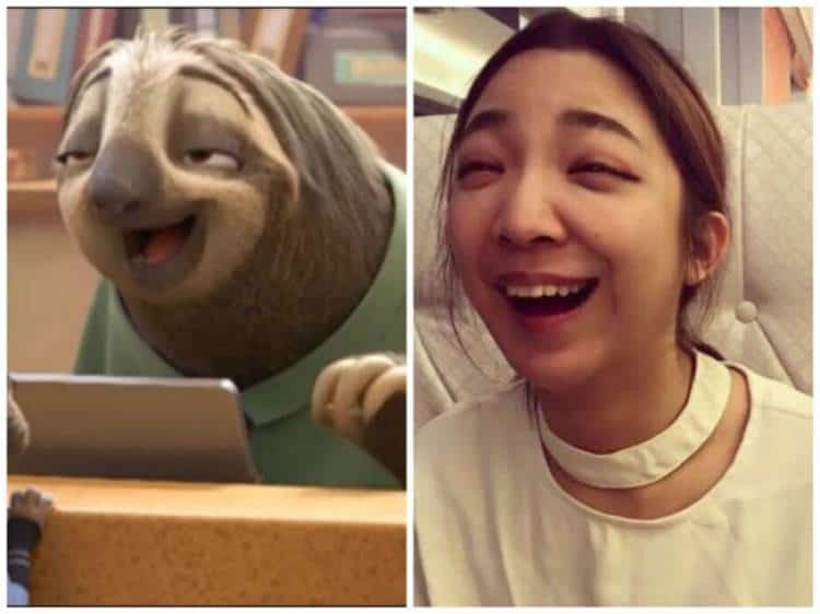 Pictures of cartoon characters in real life