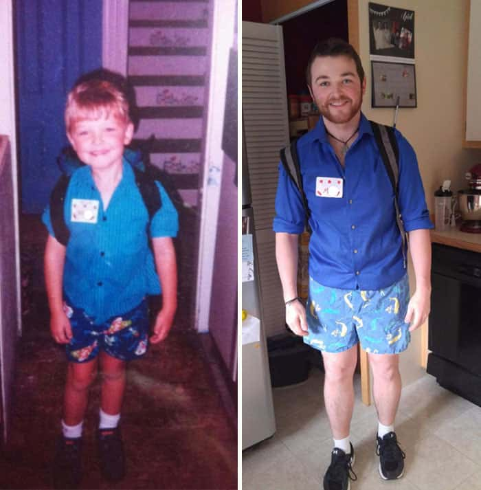 Time Travels Fast From First Day To Last Day Of School
