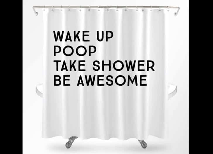 15 Hilarious Shower Curtains that will make you laugh out loud