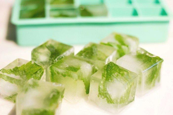 Green Tea Ice Cubes to Get Rid of Pimples Fast