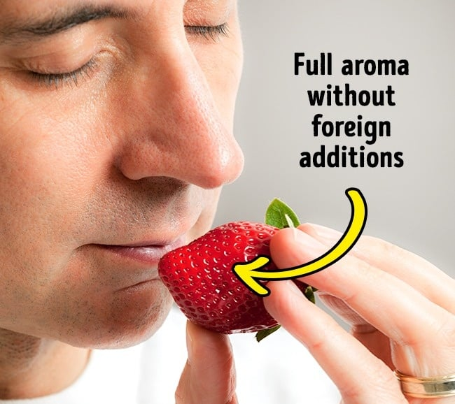 choose the right strawberry