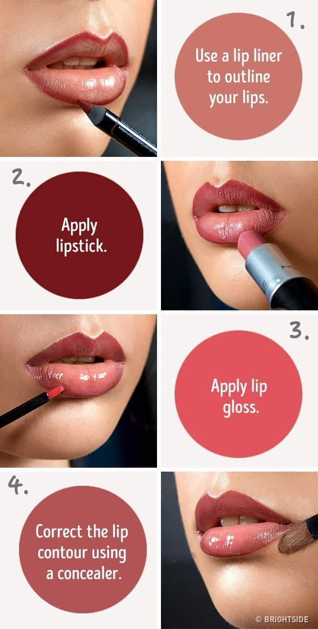 Hacks That Will Help You To Make Your Lips Look Fuller