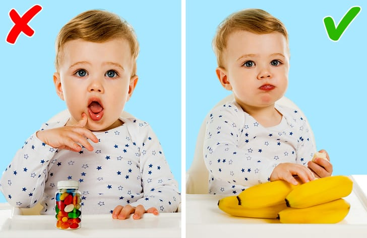 7 dangerous foods for babies-Foods to avoid feeding baby