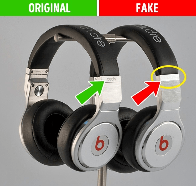 Fake vs original: 11 signs difference between the fake and original products