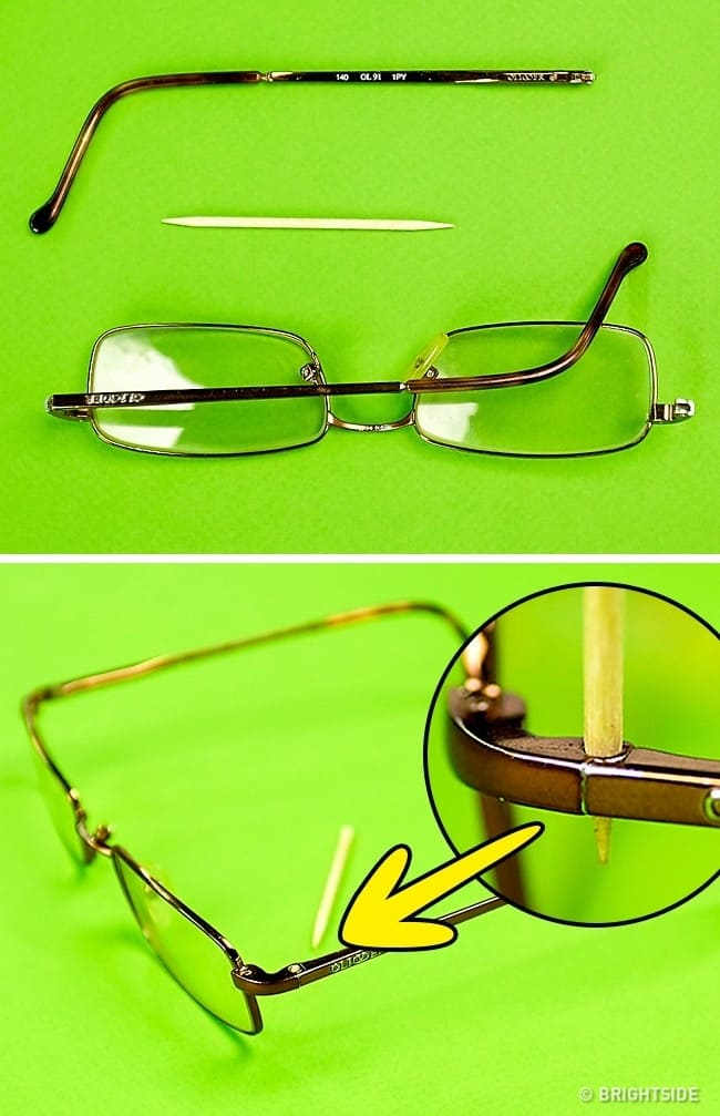 11 Glasses hacks for people who wear glasses should be aware of