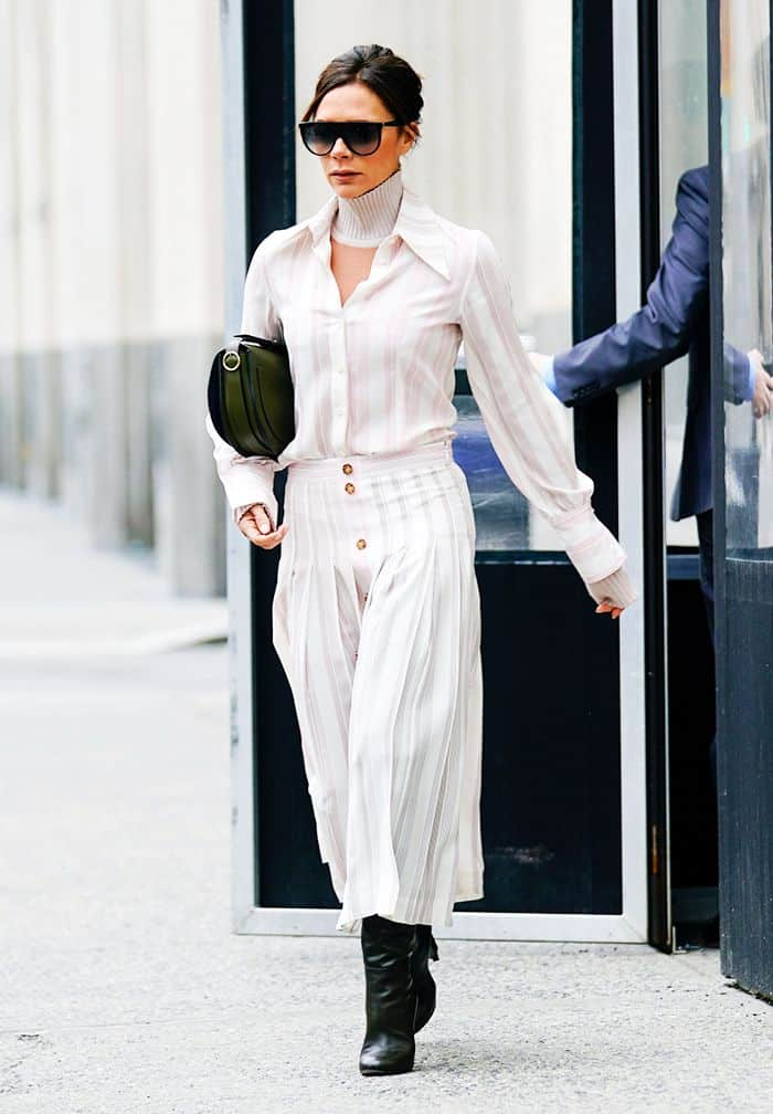 celebrities daily routine dresses