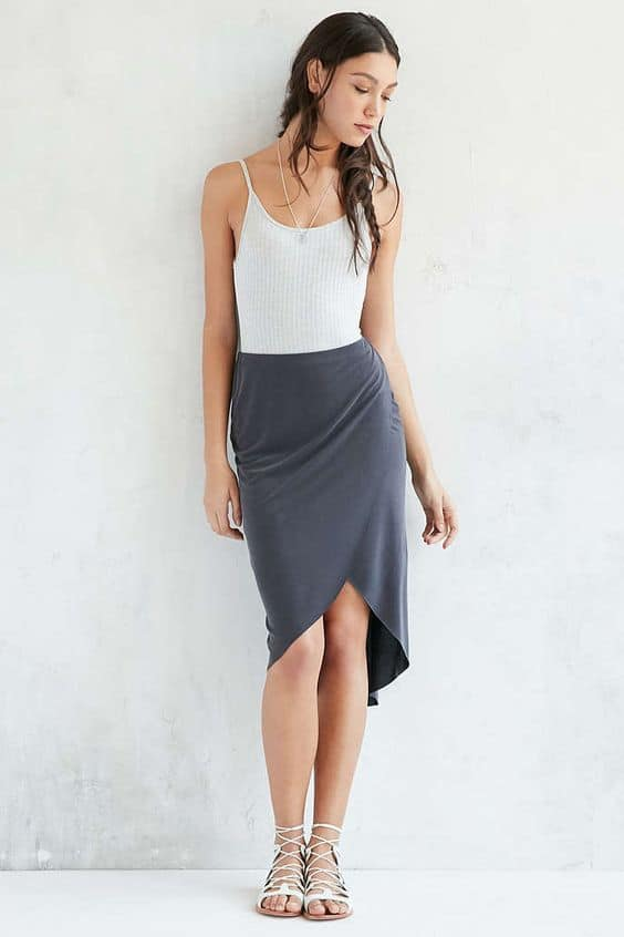 Tulip skirt? Keep your toes open