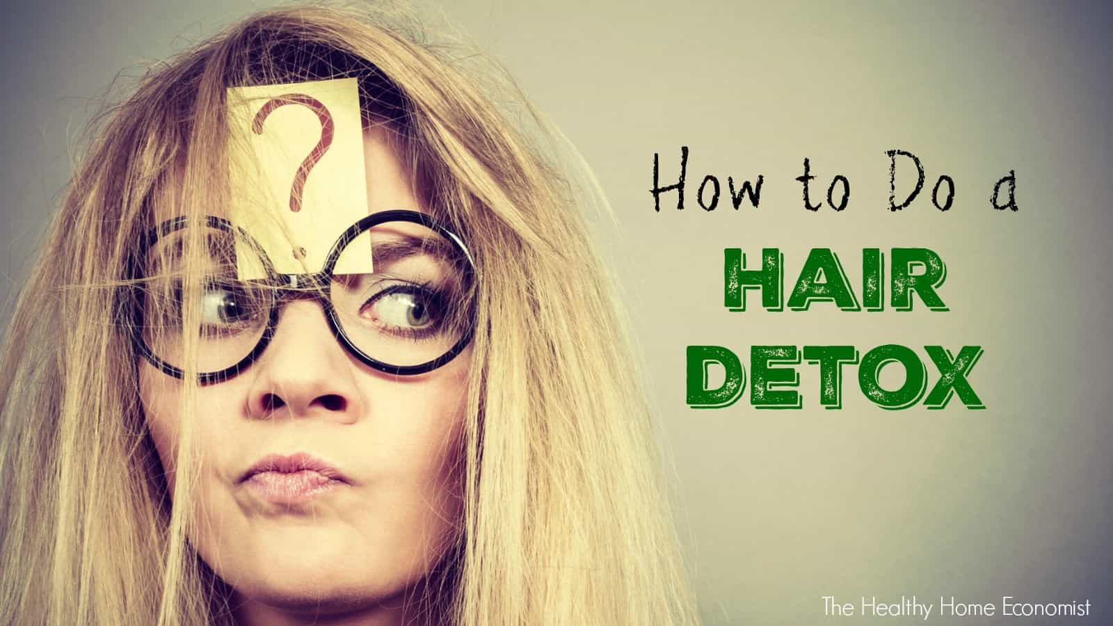 Detox your hair: Methods to stay natural, scalp care