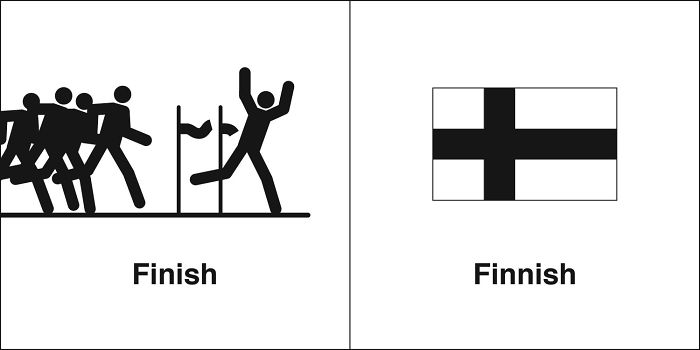 Finish, Finnish