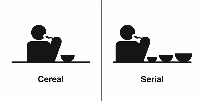 Cereal, Serial