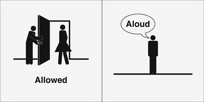 Allowed, Aloud