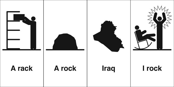A rack, A rock, Iraq, I rock