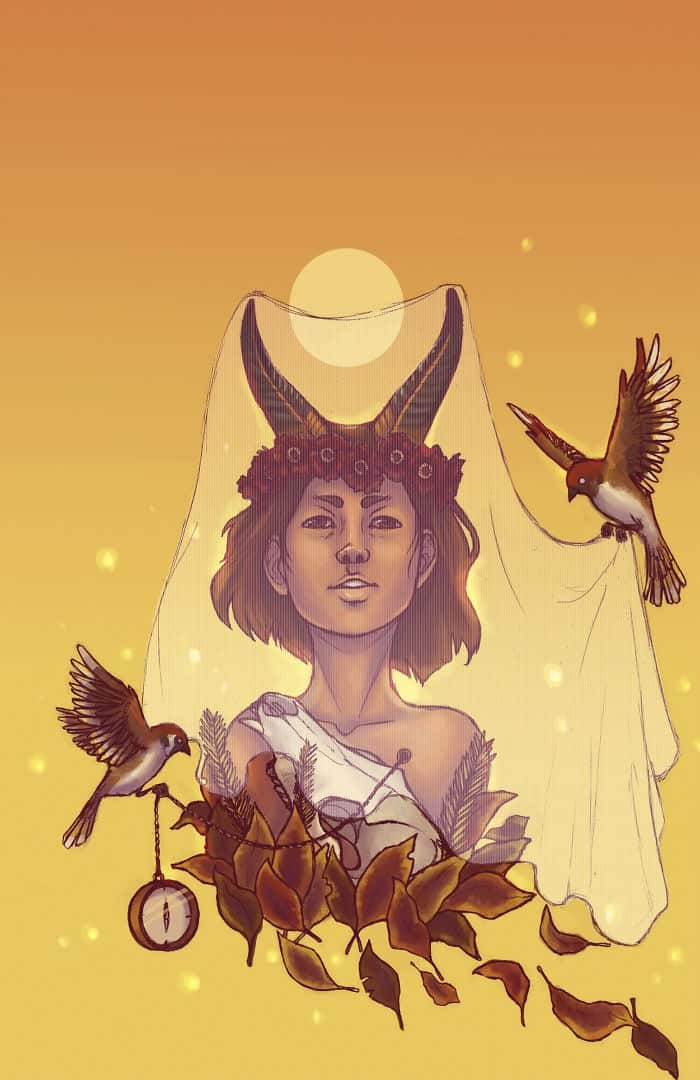See Your Zodiac Goddesses In Illustrations
