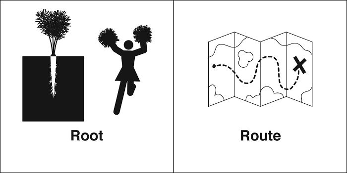 Root, Route