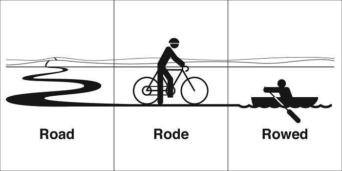 Road, Rode, Rowed