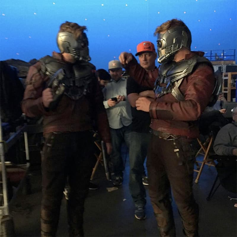 Photos Of Avengers With Their Stunt Doubles-Reality Check