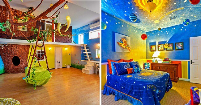 Designing your children's room? Take some ideas